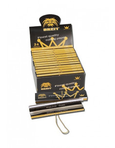 Bibułki z filterkami Breit Finest King size slim