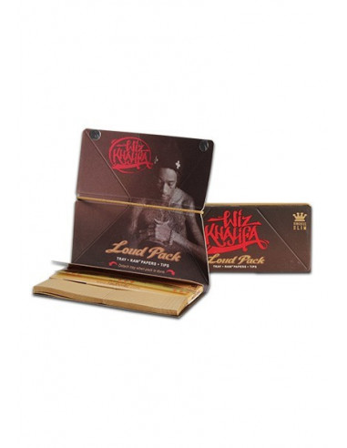 Wiz Khalifa Loud Pack by RAW King size slim bibułki z tacką