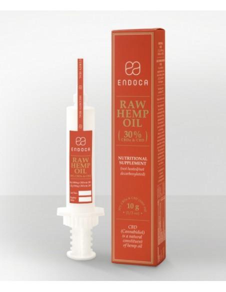 ENDOCA RAW 30% CBD+CBDa pasta konopna olejek konopny RAW 10g (3000mg CBD+CBDA)