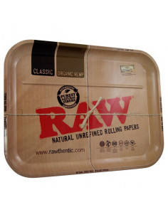 Obraz produktu: raw xxl tacka do zwijania jointów rolling tray metalowa