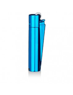 CLIPPER METAL Icey Blue metal lighter