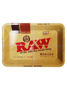 RAW MINI rolling tray for rolling joints, metal