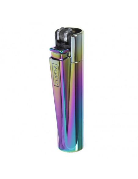 CLIPPER METAL Mini rainbow metalowa zapalniczka