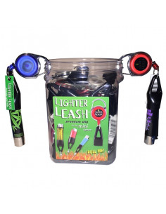 Lanyard with a CLIPPER lighter holder