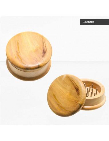 MŁYNEK GRINDER Drewniany 2 częściowy CLEAR