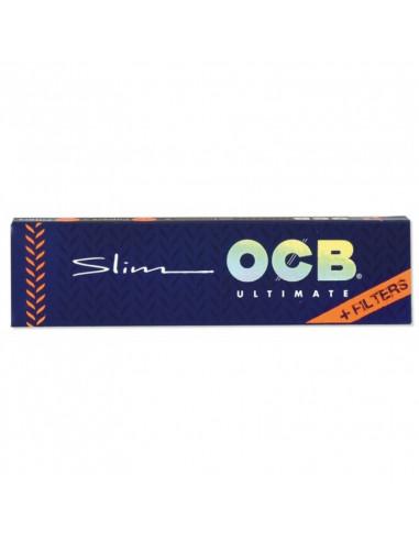 OCB ultimate Bibułki Slim + Filterki białe