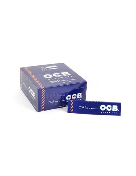 OCB ultimate Bibułki Slim białe