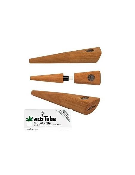 TUNE IN Lufka z filtrami Acti tube z drewna gruszkowego