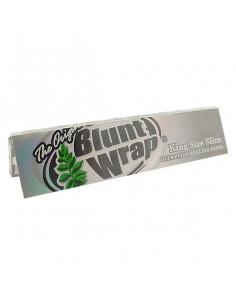 BLUNT WRAP Ultra fine Silver King Size slim bibułki