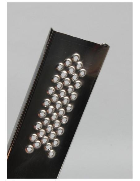 Metalowe opakowanie na bibułki z tarką grinderem