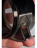 Grinder 4 częściowy aluminiowy z dozownikiem 63mm SPACE GRAY