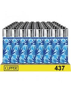 Clipper zapalniczka BLUE WEED
