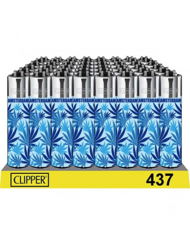 Clipper lighter BLUE WEED