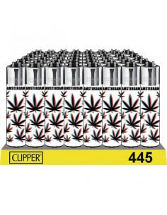 Clipper zapalniczka WHITE WEED