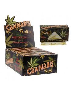 CANNABIS ORGANIC HEMP ROLLS King size slim flavor papers
