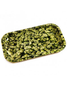 V-SYNDICATE BUDS metal rolling tray
