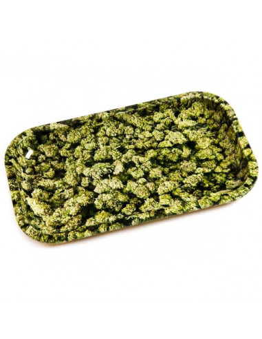 V-SYNDICATE BUDS tacka do zwijania jointów rolling tray metalowa