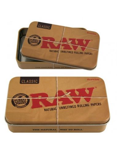 Pudełko schowek metalowy RAW
