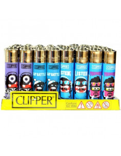 Clipper zapalniczka gazowa MONSTERS