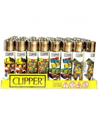 Clipper zapalniczka CUBE