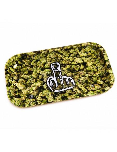 V-SYNDICATE FINGER tacka do zwijania jointów rolling tray metalowa