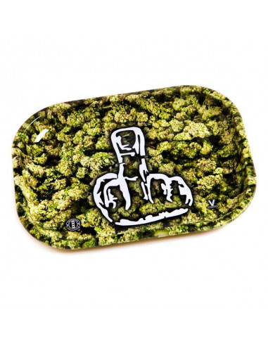 V-SYNDICATE FINGER tray for rolling joints SMALL