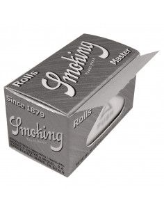 Smoking Silver Master Super slim Rolls bibułki w rolce