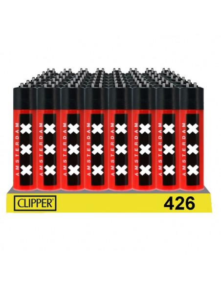 Zapalniczka Clipper wzór XXX AMSTERDAM