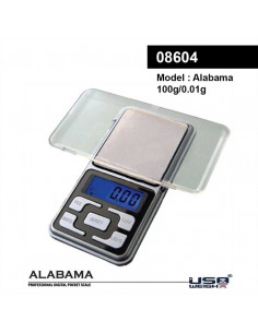 Electronic scale ALABAMA 0.01g 100g for dried