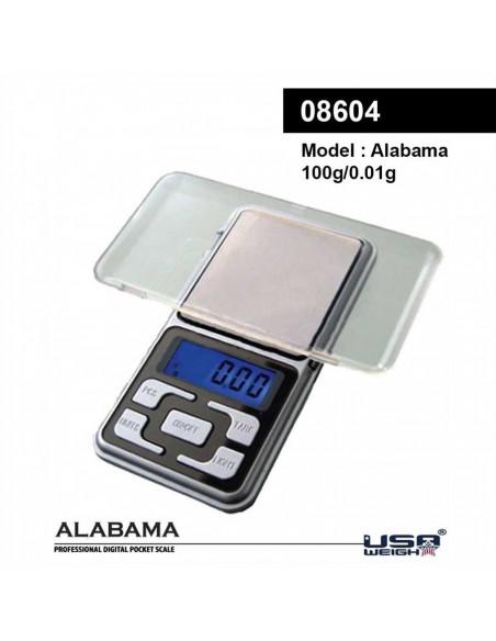 Waga elektroniczna ALABAMA 0,01g 100g do suszu