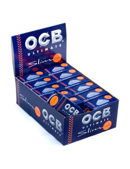 OCB ULTIMATE Bibułki ROLLS białe