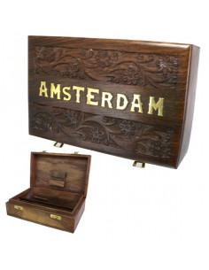 Obraz produktu: roll box amsterdam big pudełko drewniane na jointy i bibułki