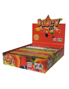 Bibułki JUICY JAY'S MIX king size slim