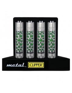 CLIPPER METAL LEAF metalowa zapalniczka