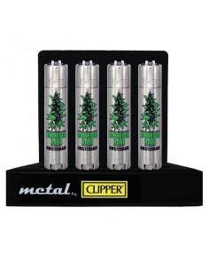 CLIPPER METAL AMNESIA metalowa zapalniczka
