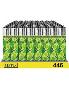 Clipper zapalniczka GREEN WEED