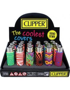 Clipper zapalniczka MAZE gumowy case pvc