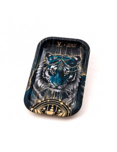 Obraz produktu: v-syndicate tiger tacka do zwijania jointów rolling tray metalowa