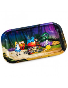V-SYNDICATE ALICE IN FOREST tray for rolling joints