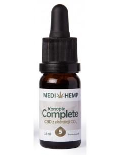 Obraz produktu: medi hemp 10ml 5% cbd naturalny olejek z ekstrakcji co2