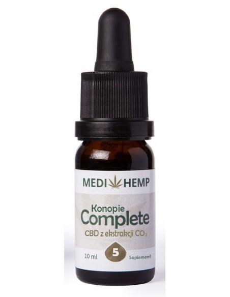 MEDI HEMP 10ml 5% CBD naturalny olejek z ekstrakcji CO2