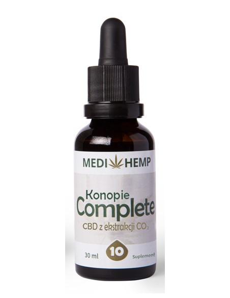 MEDI HEMP 30ml 10% CBD naturalny olejek z ekstrakcji CO2
