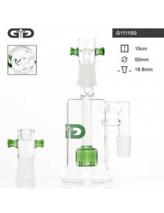 GG PRECOOLER DRUM OIL nakładka na bongo fajke wodną 15cm 18.8mm