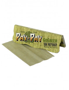 PAY-PAY Go Green Bibułki slim unbleached