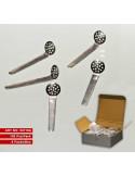 Sitka do bonga fajki wodnej 5 sitek zestaw SPOON 12mm