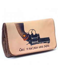 La Siesta Tobbacco Pouch THIS IS NOT A PIPE etui saszetka na tytoń 1/4