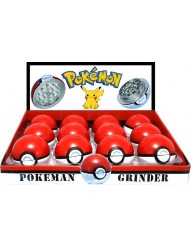 Pokeball Pokemon Grinder młynek 52mm metalowy 2 częsciowy