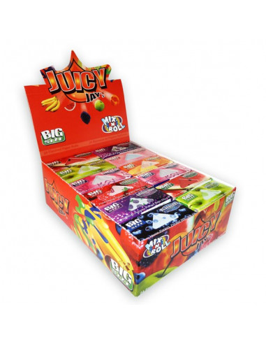 JUICY JAY'S ROLLS MIX flavor papers 5 m on a roll