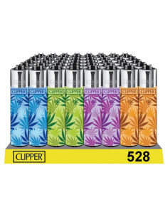 Clipper zapalniczka LEAVES MULTICOLOUR