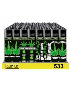 Clipper zapalniczka WEED STATEMENTS